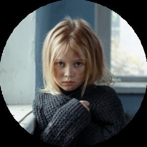 Meisje als slachtoffer van verwaarlozing