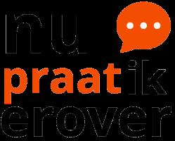 Het logo van de chatbox Nupraatikerover vanaf 2020